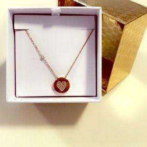 Michael Kors heart necklace